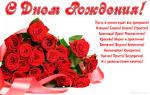 Поздравления с днем рождения жене от мужа на украинском языке