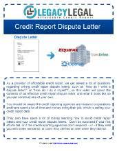 thumb credit report dispute