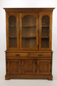 Pennsbury Manor China Cabinet Hutch Buffet By Garrison Solid Hardrock Maple