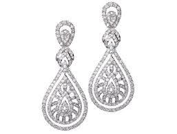 chandelier earrings hypoallergenic tiffany deco chandelier earrings decadence