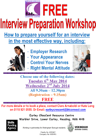 interview preparation workshop earley crescent how to prepare yourself for an interview in the most effective way including