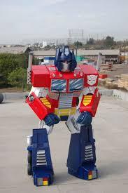 picture of optimus prime costume picture of optimus prime costume