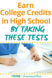 Earn College Credits In High School By Taking These Tests