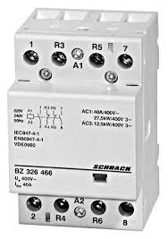 modular contactor 40a 2no 2nc 230vac 3mw online shop schrack modular contactor 40a 2no 2nc