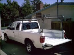 Homemade Pickup Truck Ladder Rack