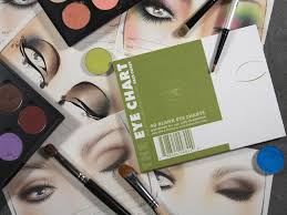 featured makeup face charts and photography by dustin hunter