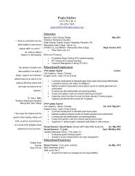 Special Ed Teacher Resume Impressive Dazzling Paraprofessional Resume Magnificent Sample Special