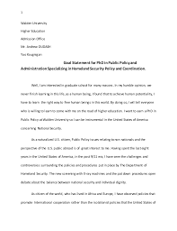 Personal statement for it student