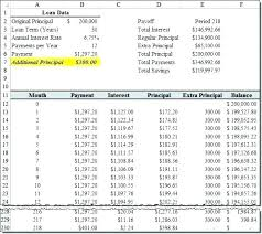 Amortized Schedule Excel Microsoft Excel Amortization Schedule Template How To Amortize A