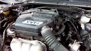 Toyota Rav4 2.0 VVTi Startup and engine work - YouTube