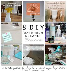 Homemade Kitchen Floor Cleaner 8 Diy Bathroom Cleaner Recipes Clean Mama