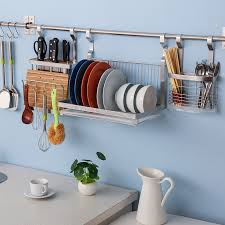 kitchen wall rack stylish huge stainless steel mounted dish at rs 2500 piece intended for 8