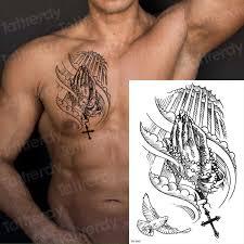 Temporary Tattoo Sticker For Men Sketches Tattoo Designs Men
