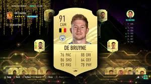 FIFA 21 KEVIN DE BRUYNE PLAYER REVIEW - YouTube