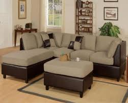 living room with modern discounted furniture including sectional sofa 700x561