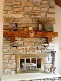 rustic fireplace mantels log mantel magnificent reclaimed wood diy