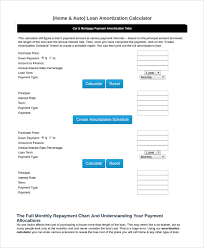 Loan Amortization Calculator Annual Payments Online Mortgage Online Mortgage Amortization Calculator