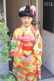 六花のレンタルきもの 七五三 七歳女の子コーディネート 着付け日本髪