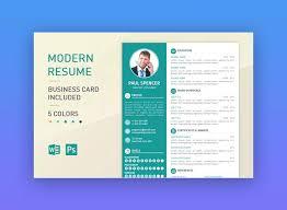 Modern Resume Template Modern Resume Template Modern Cv Template ...