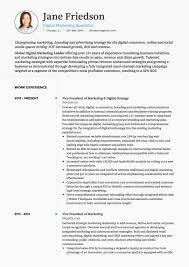 Marketing Cv Examples And Template Objectives For Resume For