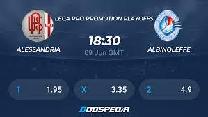 Alessandria - AlbinoLeffe » Odds, Picks & Predictions + Stats