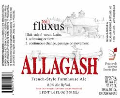 Image result for allagash fluxus 2011