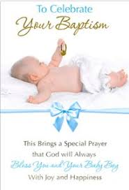 Card For Baby Boy Card Baptism Baby Boy