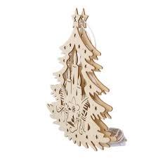 Weihnachtsbaum Aus Holz Als Fensterdeko Günstig Online Kaufen