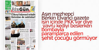 Birgün gazetesi Viranşehir'de şehit düşen çocuğu görmedi