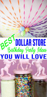 Diy Party Printables 9 Dollar Store Birthday Party Ideas Easy Dollar Store