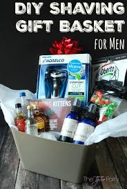 make a diy holiday shaving gift basket for men ad giftofphilips the