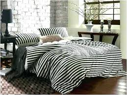black and white striped duvet cover bed set cove