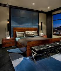 30 Masculine Bedroom Ideas Evoking Style - http://freshome.com/30