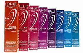 Ion Permanent Hair Color Chart Intense Violet Top 10 Semi Permanent Hair Colors 2019