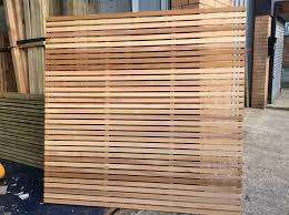 Horizontal Wood Fence Panels Horizontal Wood Fencing Fence Panels