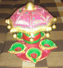 decorating diwali diyas oil lamps at home amita is here