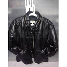 armani genuine bike leather jacket made in italy