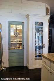 Sweet pantry door.