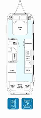 airstream floor plans. Airstream Floor Plans Vintage Beautiful The Bambi Safari Travel Trailer Plan E