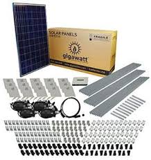 2kw solar panel installation kit 2000 watt solar pv system for 2080 watt 2kw diy solar install kit w microinverters