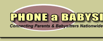 Babysitter Logo Babysitter Available Find Local Babysitters For Free At Phone A