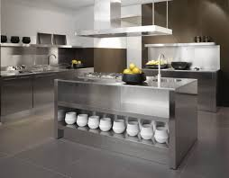 Metal Kitchen Cabinet Doors Kitchen Awesome Metal Kitchen Cabinets Design In Open Flooing