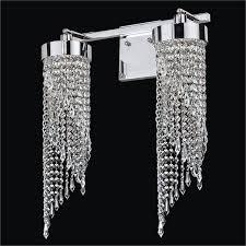 2 light vanity light crystal vanity light intuition 609cw2lsp 7c