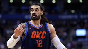 Steven Adams broke up a fight as ...