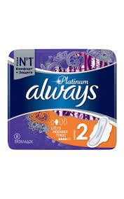 <b>Прокладки ALWAYS Ultra platinum</b> normal plus гигиенические с ...