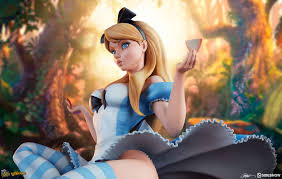 Alice You Size Chart Alice In Wonderland Statue By Sideshow Collectibles Fairytale Fantasies Collection J Scott Campbell