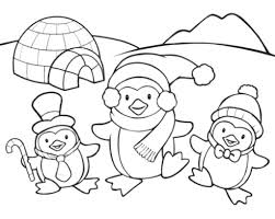 Coloring Pages Penguinsg Sheets Gallery Of Introducing To Color