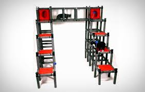 cool cat tree furniture. Cat Condo You Can Build To Shape - Cube Style Modular Furniture Cool Tree