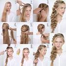 Прически на длинные волосы косичками поэтапно
