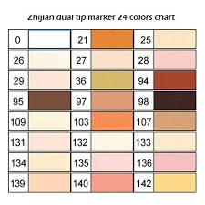24 Alcohol Markers Touch New Markers Marker Pens Twin Tip Text Marker Graffiti Pens Marker Pens Set For Students Manga Artist